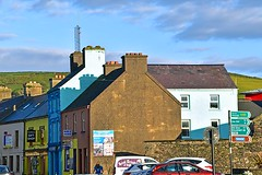Dingle (1) (AntyDiluvian) Tags: ireland tour vagabond driftwood dingle brightlycolored storefronts street