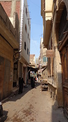 Narrow alleys near Al - Hussein Mosque (Rckr88) Tags: al hussein mosque alhusseinmosque narrowalleysnearalhusseinmosque narrow alleys near alley egypt africa travel travelling