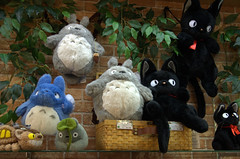 Totoro figures Miyajima Japa