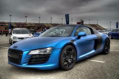 APR Audi R8 (Jason DM) Tags: california ca blue car lens nikon sigma audi hdr r8 18250 d5100