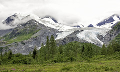 Worthington Glacier, Alaska (punahou77) Tags: statepark mountain tree nature alaska clouds forest landscape landmark glacier lakelouise valdez thompsonpass worthingtonglacier nikond7100