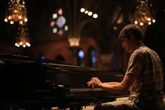 (eflon) Tags: music playing ny campus university dof interior piano chapel cornell ithaca pianist sagechapel sooc