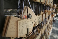 (Good Wishes) (JoshuaJThurston) Tags: city japan canon japanese tokyo photo   nihon meiji    jing lifeintokyo