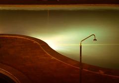 After the deluge (Raggedjack1) Tags: portugal swimmingpool algarve showerhead