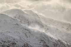 Swirling (Vemsteroo) Tags: winter snow mountains cold nature beautiful beauty canon scotland highlands dramatic tranquility telephoto 5d chilly range epic 100400mm rugged imposing inverness violent knoydart mountainscape mkiii circularpolariser visitscotland leefilters lochloyne visitbritain knoydarts