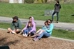 Hanging out at the playground (Aggiewelshes) Tags: travel utah october lisa victor vivian jovie 2015 provocanyon vivianpark jalila