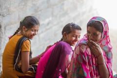 Giggling Girls (AdamCohn) Tags: girls india adam women gujarat cohn gadhada adamcohn wwwadamcohncom