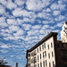 Gehry Building from Soho & Clouds - NYC