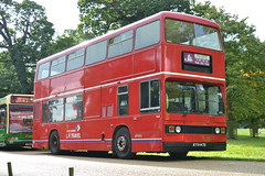 LR Travel T447 KYV447X (Will Swain) Tags: park uk travel england bus buses abbey field countryside mud britain country transport bedfordshire september fields preserved 20 20th lr woburn 2015 showbus kyv447x t447