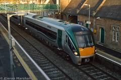 22052+22018 at Newbridge, 31/10/15 (hurricanemk1c) Tags: irish train rail railway trains railways newbridge irishrail rok rotem 2015 icr iarnród 22000 22052 éireann iarnródéireann 3pce 1550heustongalway
