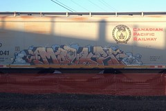 Mayor (Psychedelic Wardad) Tags: graffiti mayor d30 freight kwt hbb dirty30 benching
