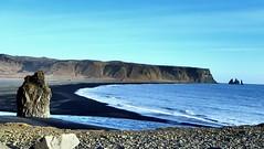 Dyrhlaey view (richiedrisc) Tags: sea beach landscape iceland scenic cliffs vik volcanic dyrhlaey