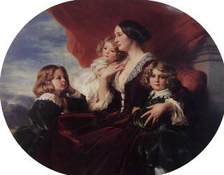 winterhalter_elzbiet_branick_countess_krasink_her_children_1853