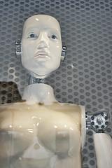 Io, robot (Caoimh) Tags: portrait woman mannequin robot donna mujer italia retrato moda inanimate vetrina venecia showcase venezia ritratto futuristic inanimato escaparate androide maniqu inanimado futurista futuristico indossatrice