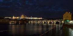 Charles Bridge - Prague (dneubaue) Tags: bridge st prague cathedral prag charles most vitus karlv