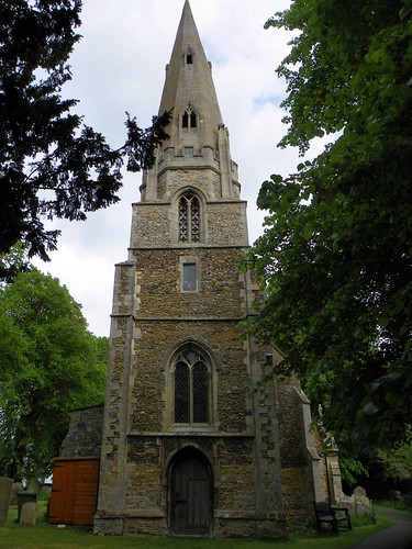 Godmanchester to St Ives 219: St Mary's Church, Houghton