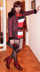 Outing ready (Julia Sweet) Tags: uk sexy stockings sex lady fetish t tv high doll slut feminine cd young mini crossdressing tgirl transgender sissy tranny transvestite heels males change trans transexual queer girlz maid pantyhose crossdresser crossdress bizarre ts kinky stilettos boygirl nylons shemale feminization girlboy fetisch girlyboy sissyboy feminisation tgirls sheboy cdtv transvesite trannyboy sissyfication girlyboys gaysissy