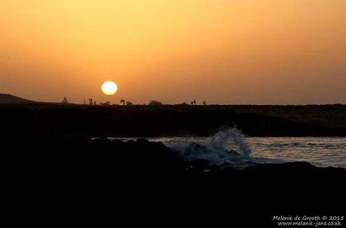 Sunset in Lanzarote