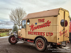 Old Delivery Van for The Newcastle Breweries Ltd.