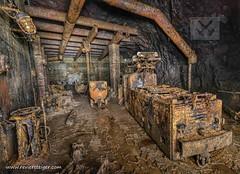 Locomotiv work shop (Reviersteiger) Tags: mining mines abandonedmines bergbau untertage untertagetechnik altbergbau untertagefotografie eisenerzbergwerk stillgelegtebergwerke wwwreviersteigercom verlassenebergwerke verlassenegruben