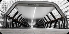 One Canada Square (kevingrieve610) Tags: plaza bridge london fuji adams outdoor docklands xm1 xc1650mm