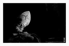 statue (alamond) Tags: statue church franciscan baroque art monument bw blackandwhite monochrome canon 7d markii mkii llens ef 70300 f456 l is usm alamond brane zalar