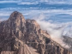 Climber's Paradise... (Ody on the mount) Tags: berge dolomiten felsen fototour gipfel hdr himmel italien morgenlicht sdtirol urlaub wolken marebbe trentinoaltoadige it
