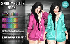!NFINITY Sporty Hoodie - NEON (infinity.owner) Tags: buynowsl buy now sl second life october nfinity sporty hoodie mesh apparel women woman female belleza maitreya slink physique hourglass venus isis freya avatar monthly