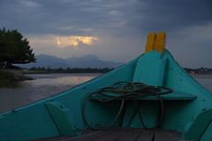 Dusk on Hoi An River (jessica.fenton23) Tags: vietnam hoian river dusk boat