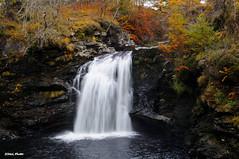 Falls of Falloch (idmcl) Tags: nikon d5000 scotland waterfall water falls falloch autumn loch lomond