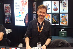 NYCC 2016 10-6-16 (44) (Comic Con Culture) Tags: nycc nycc2016 newyorkcomiccon newyorkcomiccon2016 nyc newyorkcity javitscenter jscottcampbell artist