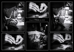 ArteSano (Unos y Ceros) Tags: blancoynegro nocturno noche night artesano artesana mercadomedieval lamorisma hispanos lansa ansa sobrarbe pirineos altoaragn huesca aragn textura luz unosyceros 2016 lightroom nikond700 zaragons zaragoneses europa unineuropea ue invarietateconcordia