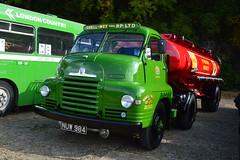 Petrol Tanker (PD3.) Tags: surrey lt transportfest transport fest 2016 london bus museum cobham hall weybridge trust brooklands lorry shell mex bp tanker bedford nuw984 nuw 984
