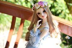 DSC_0218 copy (Pii_kun) Tags: dolls bal bjd balljointeddoll asianballjointeddoll volksdoll volksbjd portrait toy garden dainty girls beauty
