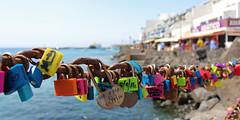 Playa Blanca Locks (Shockin Goblin) Tags: lanzarote holiday spain island playablanca locks padlocks