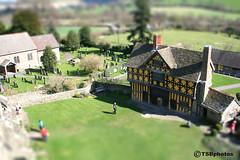 B0000172-tiltshift (lensman 2011) Tags: tiltshift castle gatehouse stokesay