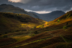 Borrowdale (Vemsteroo) Tags: 50140mm borrowdale castlecrag cloudy cumbria dramatic fujifilm keswick lrthefader lakedistrict light morning sunrise valley wainwright weather xt2 autumn borrowdalevalley nature beautiful warm mountains fells cloud epic fuji xseries