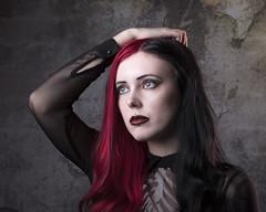 Morgan (Lee Galashan) Tags: canon 7dmk2 2470l f28lii studio lastolite urban gothic beauty woman beautiful portrait model