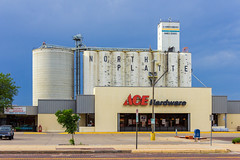 Ace Is The Place For Elevating Grain (Eridony) Tags: northplatte lincolncounty nebraska downtown retail