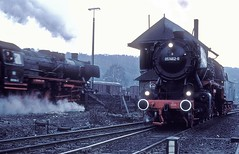 051 462  Stolberg  04.04.76 (w. + h. brutzer) Tags: stolberg 050 eisenbahn eisenbahnen train trains deutschland germany dampfloks steam railway lokomotive locomotive zug db webru dampflok analog nikon