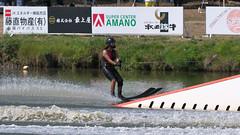 20160903_132145_DSC_5836 (seiichi_sugano) Tags: waterski waterskiing watersports water championship collegiate jccw jump trial ob oogata akita japan   og