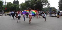 Rainbow in Communism (program monkey) Tags: vietnam hanoi oldquarter celebration equality freedom flag rainbow
