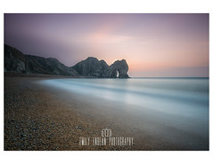 Smooth Seas. (Emily_Endean_Photography) Tags: longexposure leefilters durdledoor dorset seascape sea sunrise coast ocean nikon