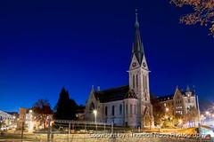 St. Leonhardskirche, St. Gallen (Thomas Naas Photography) Tags: leonhardskirche stgallen sankt schweiz switzerland reisen travel kirche church nacht nachtaufnahmen night nightshoot architektur gebude