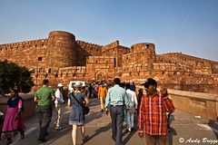 Agra Red Fort (Pandster1981) Tags: a77 agra honeymoon india redfort sonya77