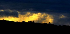 (Christopoulos) Tags: sky clouds rain storm trees hills sunrise
