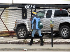 IMG_4783 (kennethkonica) Tags: canonpowershot canon global random hoosiers outdoor talking candid street streetphotography marioncounty midwest america usa indiana indianapolis indy hat fence people persons walking cellphone boots weather bestshotoftheday bluejeans blue