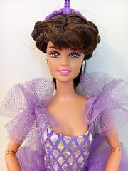 FOR SALE: 1995 Twirling Ballerina Teresa Doll #15299 (The Barbie Room) Tags: 15299 1995 1990s twirling ballerina barbie teresa doll purple brunette ballet