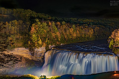 Letchworth at Night (tausigmanova) Tags: letchworth state park nature night nighttime nikon waterfall trees autumn fall new york ny western rural outdoors long exposure longexpo