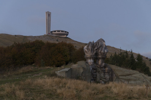 Torch and Buzludzha Monuments, 10.10.2014.